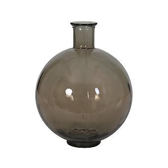 Light & Living Vase 34x44cm Sossano Glass Taupe
