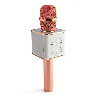 Rose Gold Wireless Karaoke Microphone