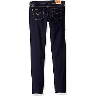 Levi's Girls' 710 Super Skinny Fit Classic Jeans, Dusk Rinse, 8