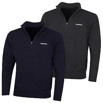 Stromberg Mens 2020 Classic 1/4 Zip Knit Stretch Breathable Golf Sweater