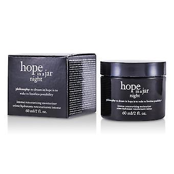 Esperança em uma noite de jarra intensa retexturização hidratante 162751 60ml/2oz