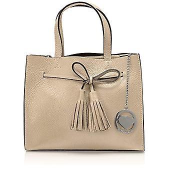 Bolsas Ccacca Cbc3318tar Bolso Beige de Mujer (Taupe) 15x21x26 cm (Ancho x Alto x L)