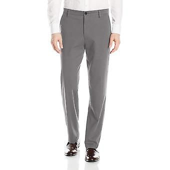 Dockers Men's Classic Fit Easy Khaki Pants D3, Burma Grey, Grey, Size 36W x 30L