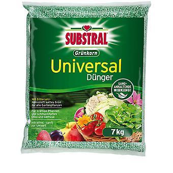SubstraL® fertilizante universal de grãos verdes, 7 kg