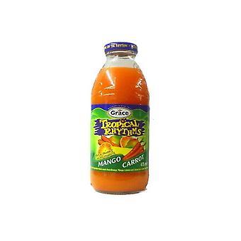 Grace tropiske rytmer Mango gulrot necta-( 473 ml X 12 bokser )