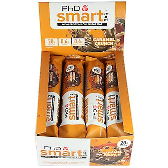 PHD NUTRITION SMART BAR CARAMEL CRUNCH BOX OF 12