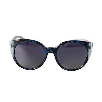 Valentino VA4038 503111 55 Color-block Oval Sunglasses