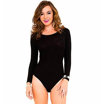 Black body with long sleeves