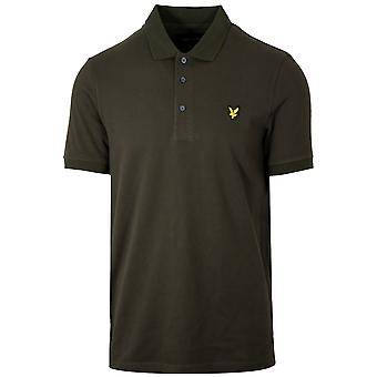 Lyle & Scott  Lyle & Scott Green Polo Shirt