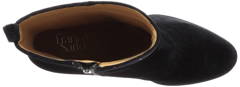 Franco Sarto Womens Owens Leather Closed Toe Ankle Fashion Boots