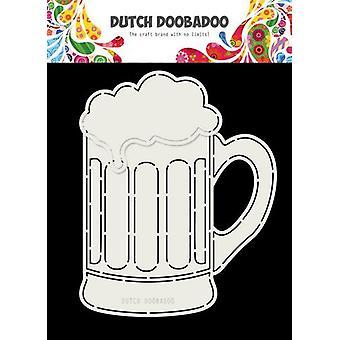Голландский Doobadoo Карты Искусства пиво glas A5 470.713.775