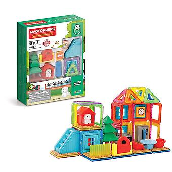 Magformers Milo's Mansion 26 in 1 Set STEM Educational Toy