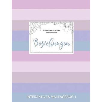Maltagebuch fr Erwachsene Beziehungen Schildkrten Illustrationen Pastell Streifen by Wegner & Courtney