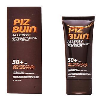 Alergia facial ao creme solar Piz Buin Spf 50 (50 ml)