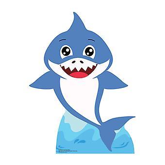 Baby Blue Shark Cardboard Cutout / Standee / Standup
