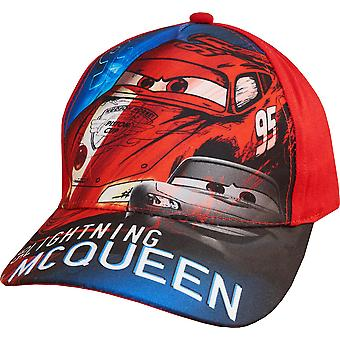 Boys ET4162 Disney Cars Baseball Cap Hat with Adjustable Back