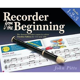 RECORDER FROM THE BEGINNING BOOK 1 2 amp 3 by Pitts & John