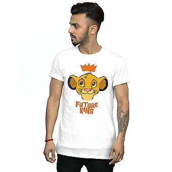 Disney Men & apos; s The Lion King Simba Framtida King T-shirt