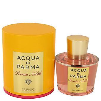 Acqua Di Parma Peonia Nobile Eau De Parfum Spray przez Acqua Di Parma 3,4 uncji Eau De Parfum Spray