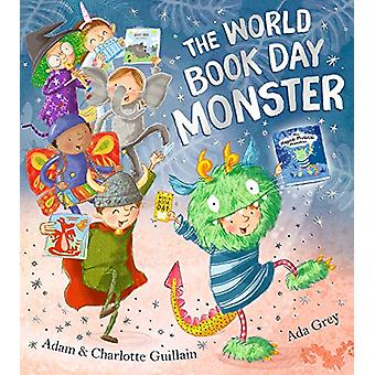 The World Book Day Monster by Adam Guillain - 9781405291859 Book