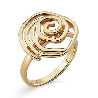 Orphelia Silver 925 Ring with Gold plated
