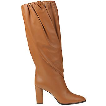 Givenchy Ezgl074065 Women's Brown Leather Boots