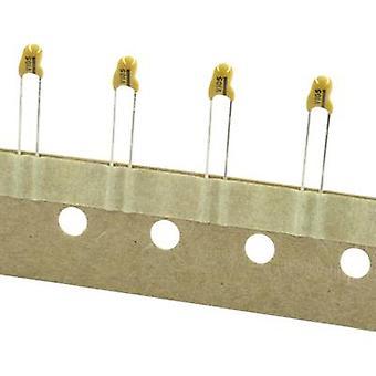 TANCAP CA42-106M035AA Tantalum capacitor THT 2.5 mm 10 µF 35 V 20 % (W x H) 6 mm x 14 mm 1 pc(s)