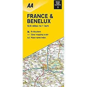 Road Map France & Benelux - 9780749582142 Book