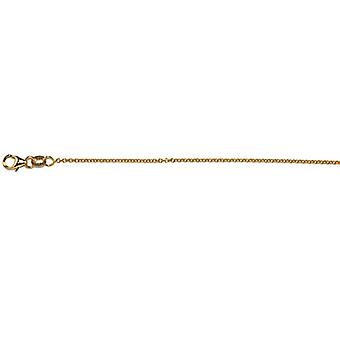 14k Yellow Gold 1.5mm Cable Chain Necklace Jewelry Gifts for Women - Length: 16 to 30