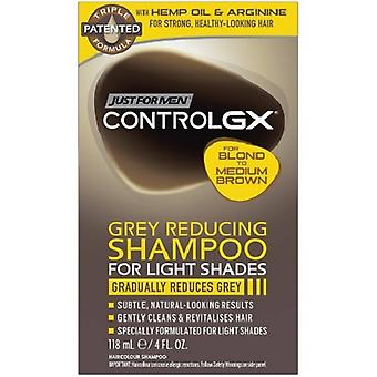 Just For Men Grey Reducing Shampoo for Light Shades