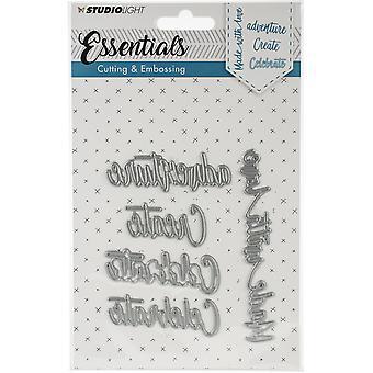 Studio Light Embossing Die Cut Stencil Essentials nr.164 STENCILSL164