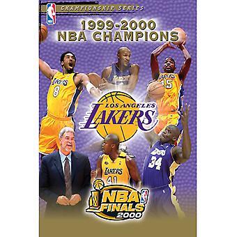 NBA Champions 2000: Los Angeles Lakers [DVD] USA import