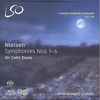 Nielsen / London Symphony Orchestra / Davis - Nielsen Symphonies Nos 1 - 6 [CD] USA import