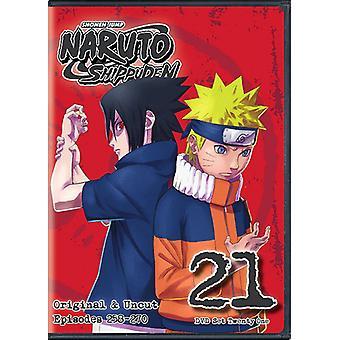 Naruto Shippuden Uncut Set 21 [DVD] USA import