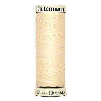 Gutermann Sew-all 100% Polyester Thread 100m Hand and Machine Colour Code  - 610