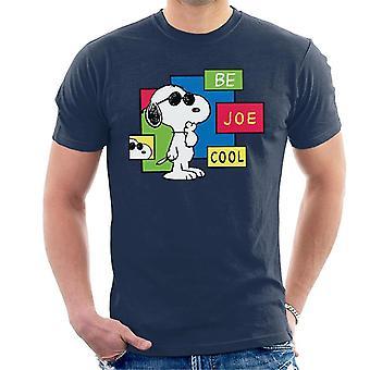Erdnüsse werden Joe Cool Snoopy Männer's T-Shirt