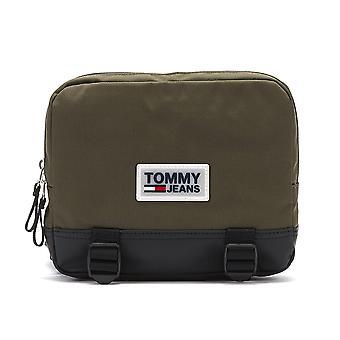 تومي جينز الحضري Varsity الزيتون ليلة حقيبة الجسم