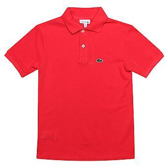 gutt&s lacoste junior polo skjorte i rosa