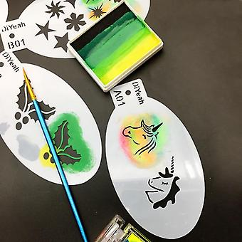 Face Painting Stencils -diy Art Template And Stamps