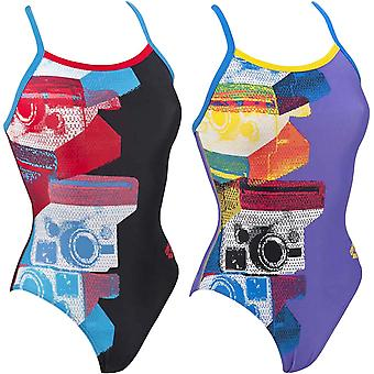 arena Kvinders Kamera One Piece Pro Back Training Swimming Pool Badedragt Kostume