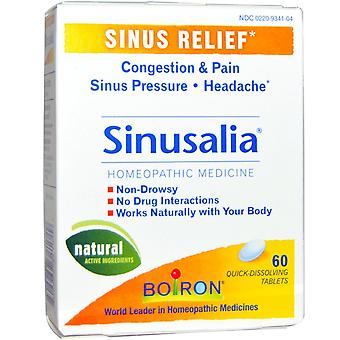 Boiron, Sinusalia, Sinus Relief, 60 Quick-Dissolving Tablets
