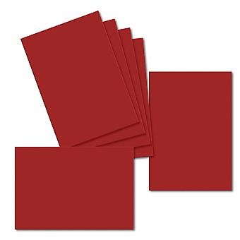 Chilli Red. 115mm x 165mm. Greeting Card. 235gsm Card Sheet.