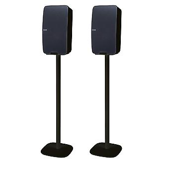 Vebos vloerstandaard Sonos Five zwart - verticale set