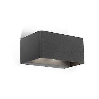 Leds-C4 Wilson - Outdoor LED Up Down Wall Licht Urban Grey 1710lm 3000K IP65