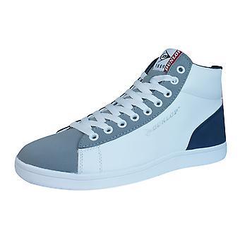Dunlop undervisere Jerez Herre Top Hej snøre sko - hvid