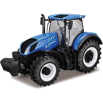 Burago New Holland T7HD Tractor 1:35 Scale
