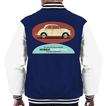 Morris Minor 1000 Its The Car Called Success British Motor Heritage Men's Varsity Jacket