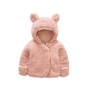 3m-2y Winter Hooded Jacket- Bear Thicken Cloth
