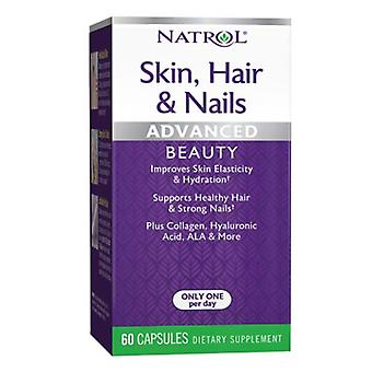 Natrol Skin - Hair & Nails Formula, 60 Caps