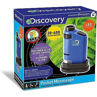 Discovery adventures pocket microscope, exploration and adventure, toy for kids